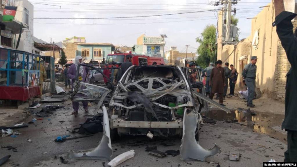 6 civilians killed in a bomb explosion in Kandahar, Afghanistan