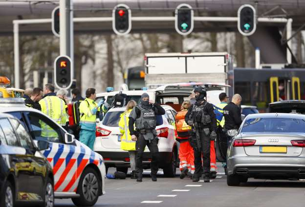 Several injured in Dutch tram shooting, 'terrorist motive' possible: police