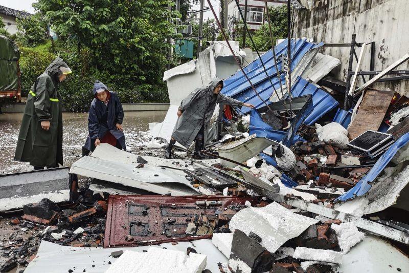 6.0-magnitude earthquake strikes China
