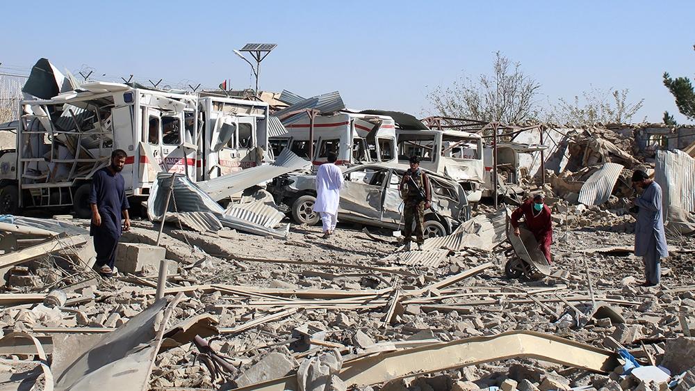 At least 50 killed in US drone strike, Taliban blast