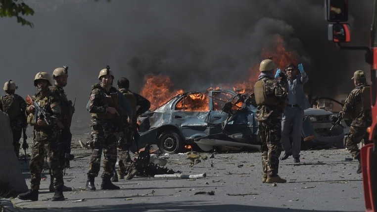Explosion in Kabul injures four