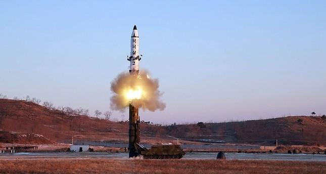 North Korea fires three missiles into sea: US