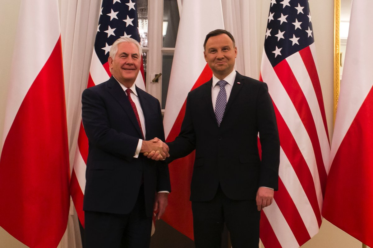 Rex Tillerson Seeks to Strengthen US
