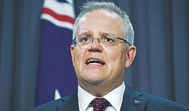 australianpmscottmorrisonexpressesregretoverhandlingofbushfirecrisis