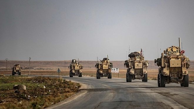 US troops leaving Syria will go to Iraq, says Pentagon chief