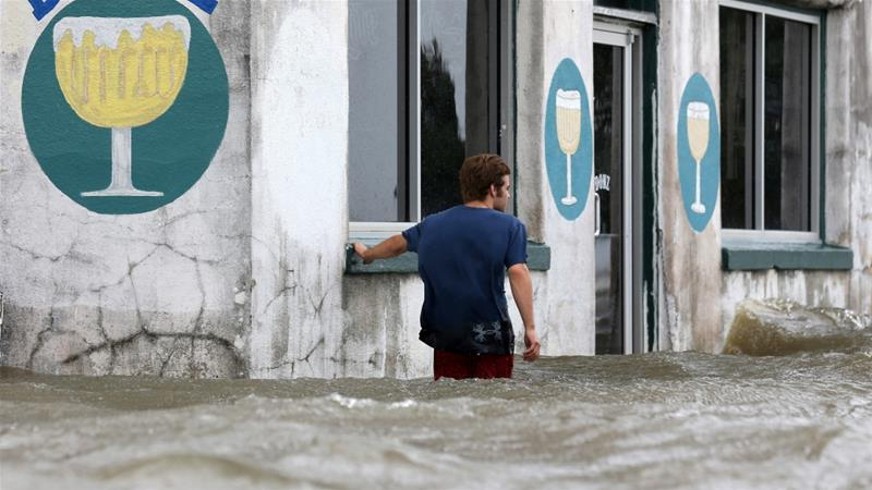 Tropical storm Barry  weakens after making landfall in Louisiana, US