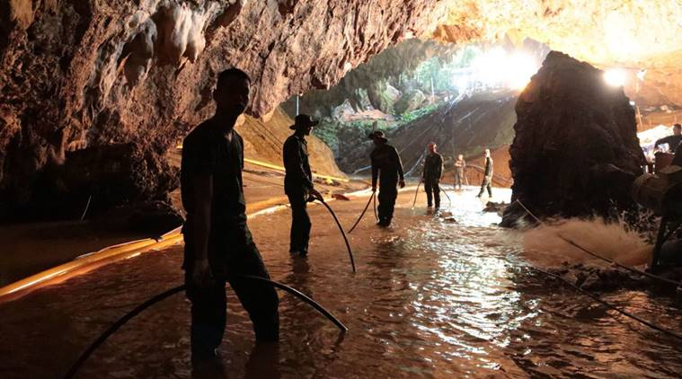 Eleventh person was rescued from Thai cave on third day of operation