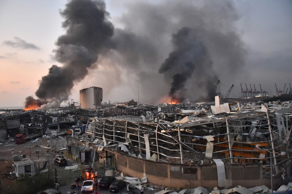 Powerful explosion shakes Lebanon
