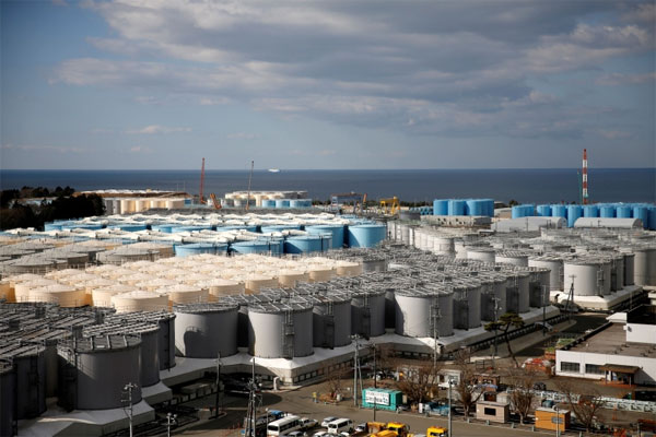 Japan going to dump radioactive Fukushima water into Pacific.
