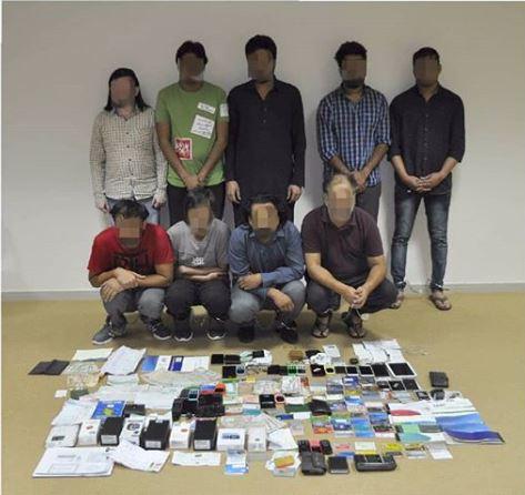 Police team up to bust 11-member phone scam gang in UAE
