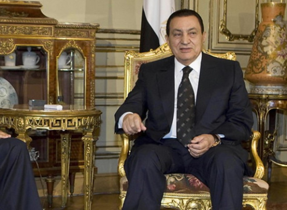 Egypt holds full-honors military funeral for Hosni Mubarak