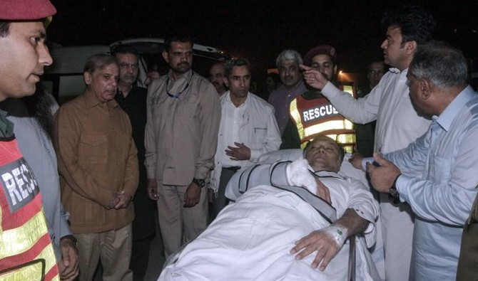 Pakistan interior minister recovering after gun attack