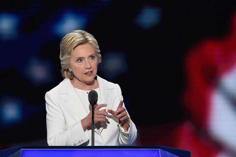 Hillary Clinton promises a