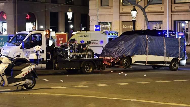 Barcelona van attack kills 13, injures 100; police kill 5 suspects in 2nd assault in seaside resort town