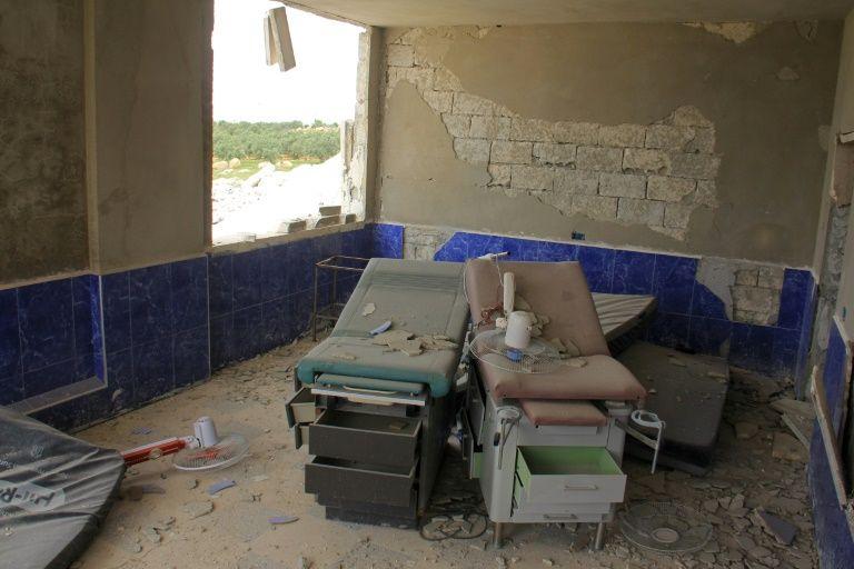 10 dead as airstrikes hit Syria hospitals