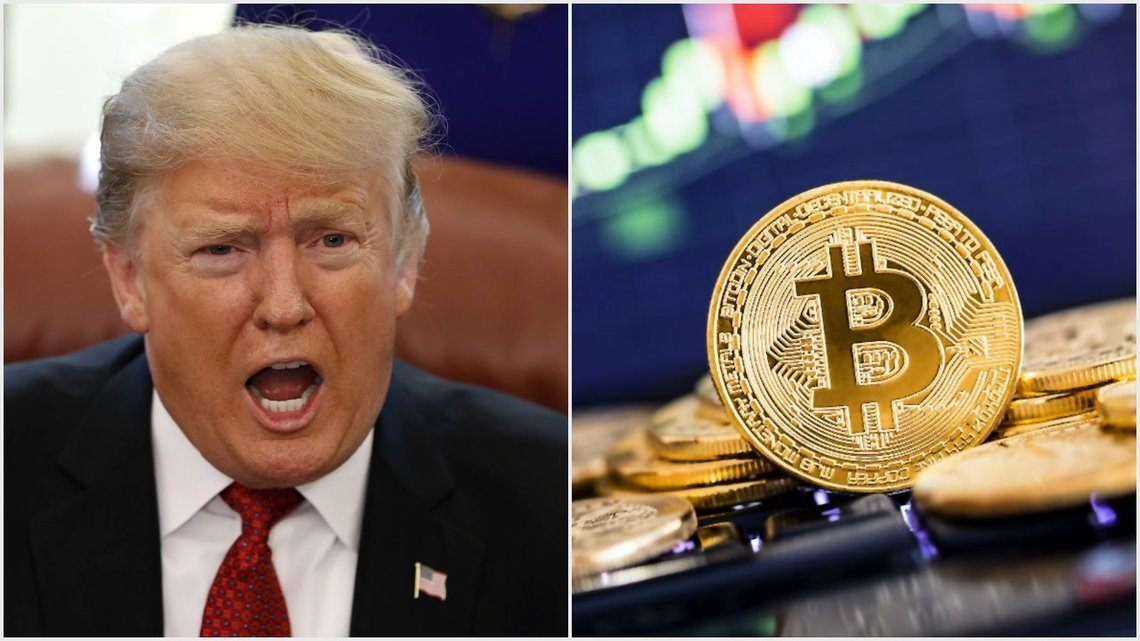 Trump says cryptocurrency is