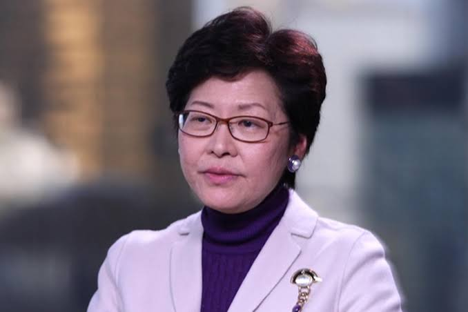 Hong Kong Chief Executive Carrie Lam says