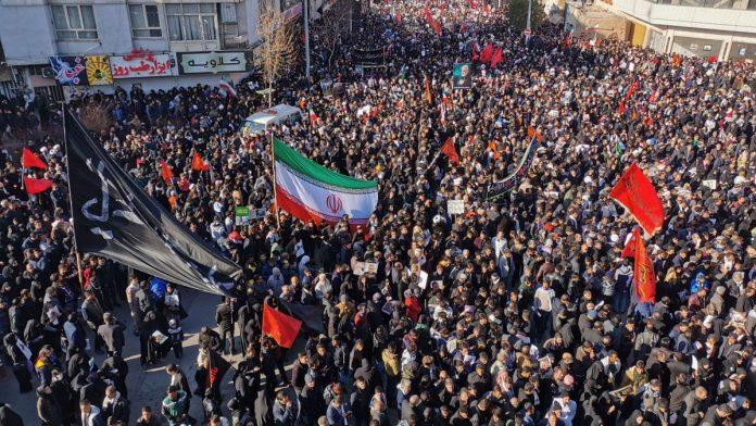 iran:35killedinfatalstampedeatfuneralforslaingeneralqassemsoleimani