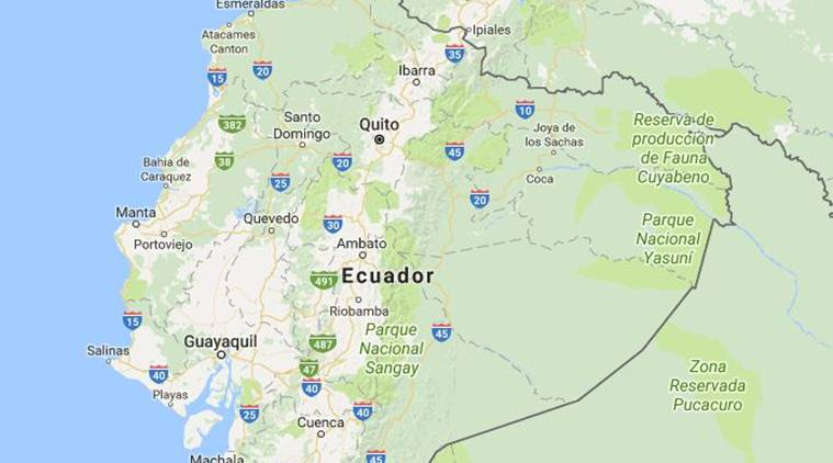 6.0 earthquake hits coast of Ecuador