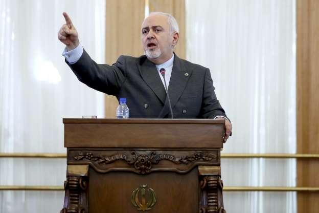 Iran: Zarif threatens