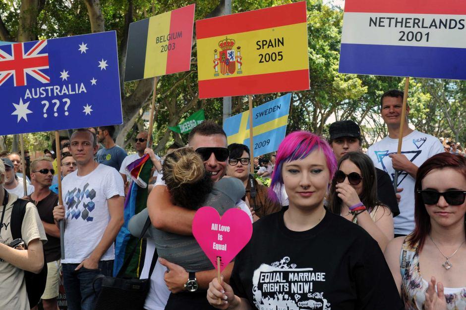 Australian govt legalises same-sex unions