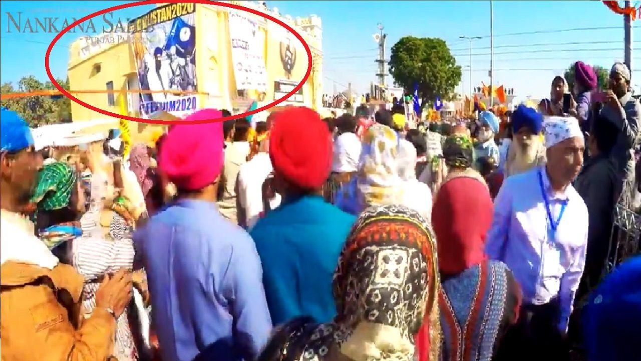 pakistan'sofficialkartarpurcorridoropeningvideohasbhindranwale'sposter