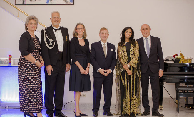 Saudi's Prince Faisal is guest of honor at German Unity Day Reception