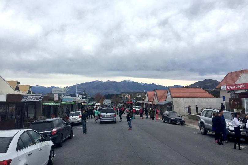 Earthquake strikes New Zealand
