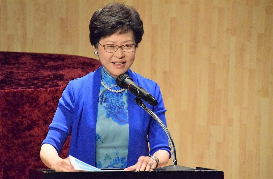Hong Kong leader apologises for causing conflict and disputes