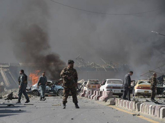 At least seven killed in Kabul suicide attack