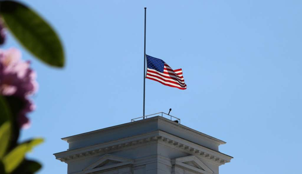 Trump order US flag to be flown at half-staff over next 3 days as Covid-19 death toll surpasses 95,000