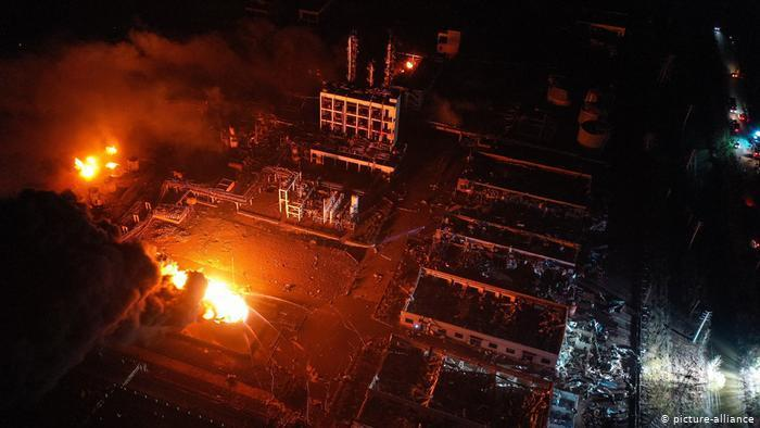 Death toll rises to 64 in China chemical plant explosion