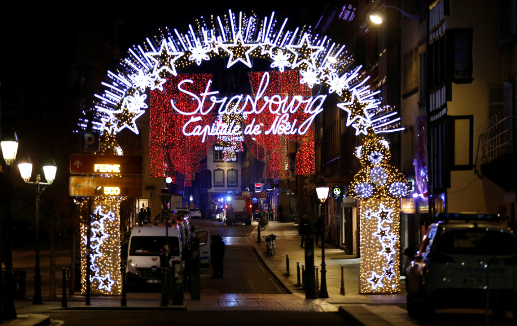 Four dead in Strasbourg