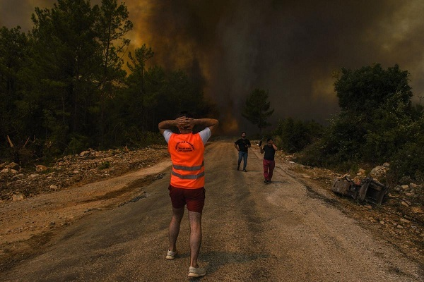 Turkey Wildfires: Despair and Questions as Forests Burn