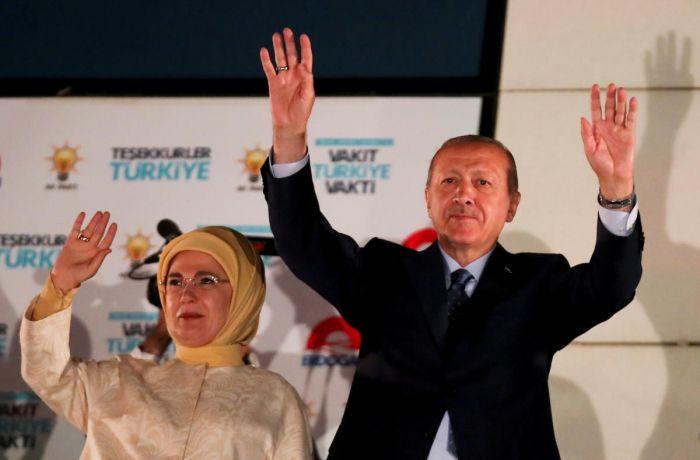 Erdogan declared winner of Turkey presidential polls