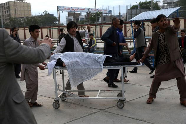 Bomb blast near school in Kabul, at least 25 killed, over 50 injured