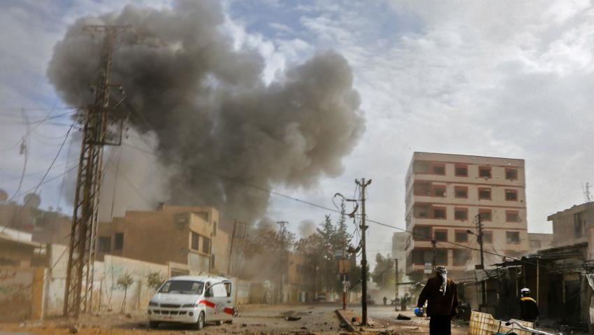 Bombing kills 71 in east Ghouta in Syria