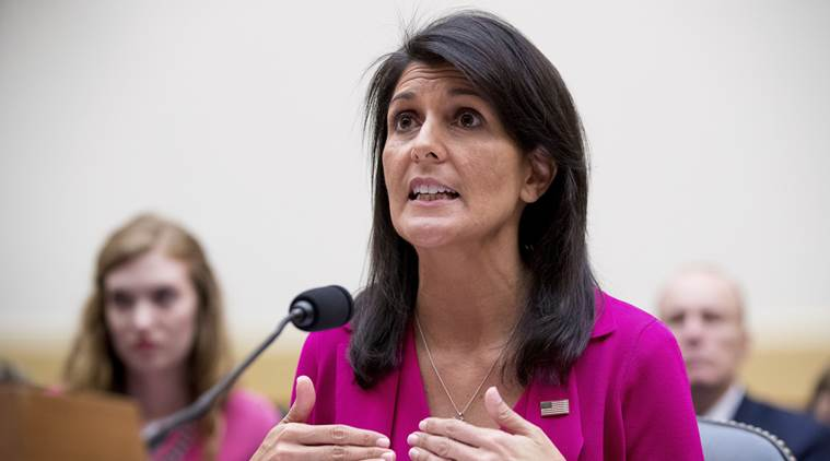 China risks trade with US if its trade with N Korea violates UN sanctions: Nikki Haley
