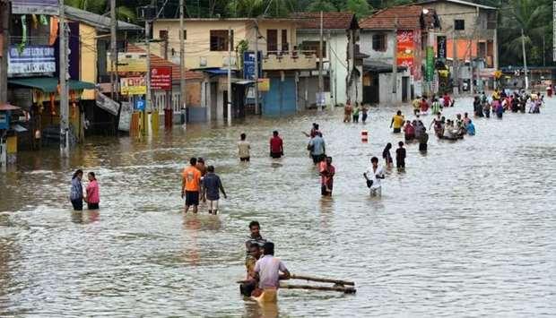 23 people died during monsoon rains in Sri Lanka