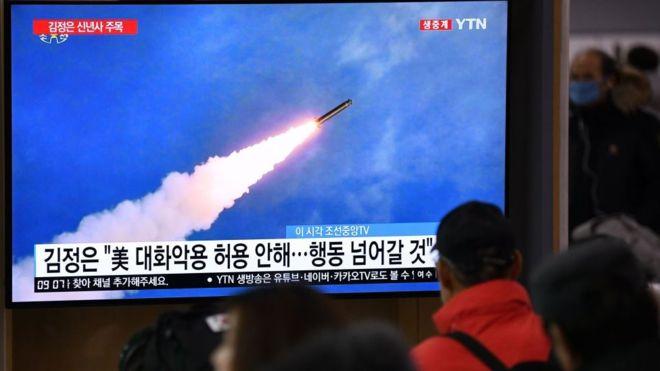 northkoreafirestwomissilesinfirsttestoftheyear