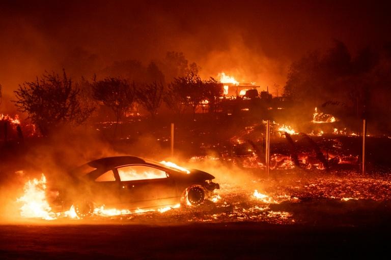 Nine die in California wildfires