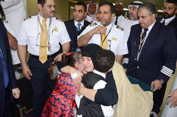 Saudia crew members who died in Lanka blasts buried
