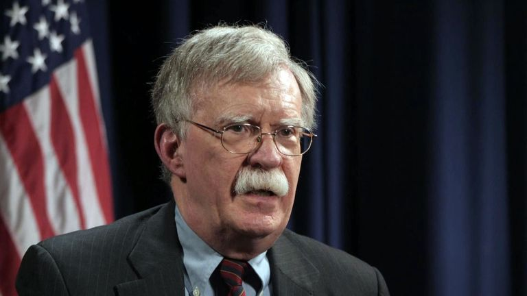 US President sacks National Security Adviser John Bolton