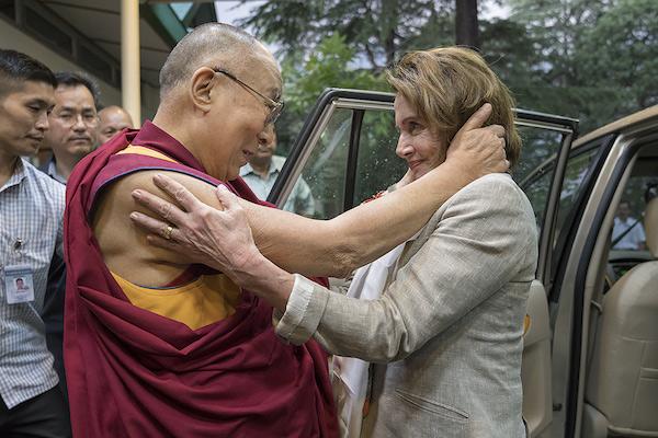 China protests to US over American delegation meeting Dalai