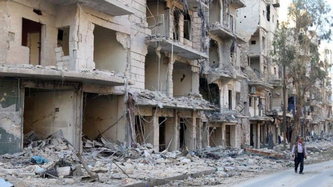 MP: Russian airstrikes on Aleppo