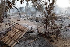 Junta troops burn Myanmar village