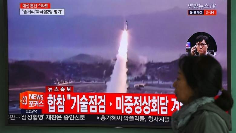 North Korea fires missile into Sea of Japan