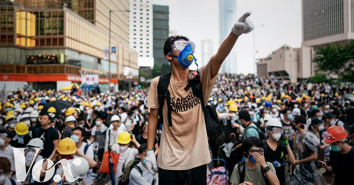 Protests in Hong Kong ahead of G20 summit in Japan