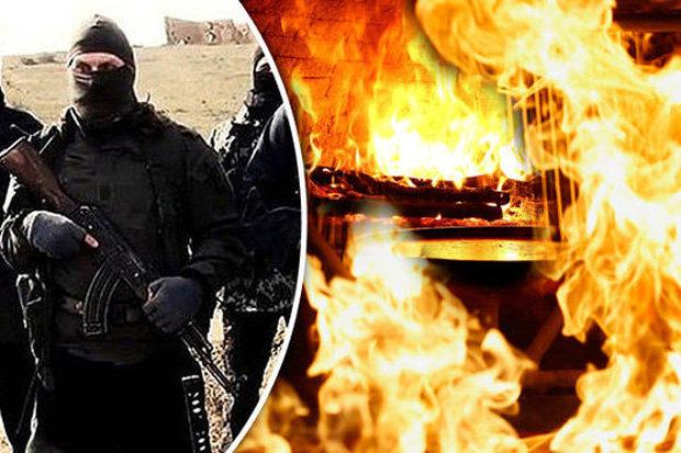 Evil ISIS slaughter 250 kids in dough kneader horror and burn men alive in oven