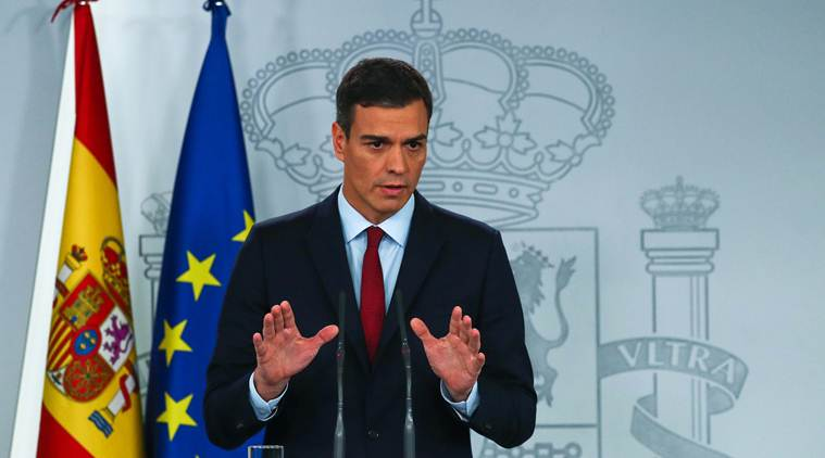 Spanish PM Pedro S nchez wants state of emergency extension